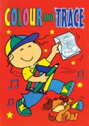 A4 Children's Colour And Trace Book Red - 630-SPL2