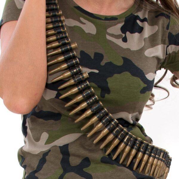Plastic Bullet Belt