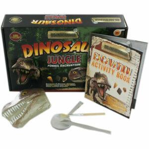 Dinosaur Jungle Fossil Excavation