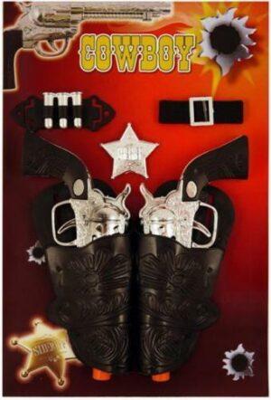 Toy Cowboy Gun Set