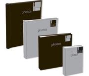 """4"""" x 6"""" 80 Picture Slip In Photo Album - Silver"""