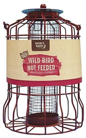 Squirrel-proof Bird Nut Feeder