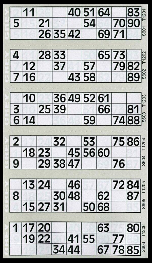Jumbo Bingo Book