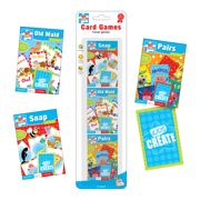 Travel Games - 3 X Card Games In A Pack - CARG/1