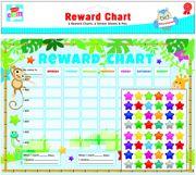 6 Children's Reward Charts With Stickers & Pen
