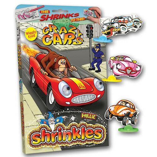Crazy Cars Shrinkles