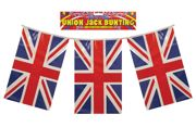 4m/12ft Plastic Union Jack British Flag Banner Bunting - F30 077