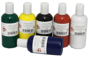 Blue Fabric Paint FAB150/6/A-SPL6
