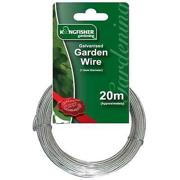 20m X 1.2mm Galvanised Rust Proof Garden Wire