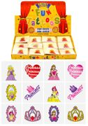 Princess Mini Temporary Tattoos 12 Pack - N51 041