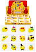 Smile Faces Mini Temporary Tattoos 12 Pack - N51 043