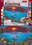 A3 Painting By Numbers Kit - Ocean Life Pal20