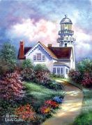 Large Deluxe Canvas Painting By Greyscale Kit - Cape Elizabeth Pom-set1
