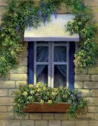 A3 Deluxe Canvas Painting By Greyscale Kit - Euro Window Pom-set8