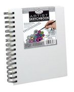 A5 Canvas Cover Sketch Book Rcsb-a5