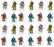 24 Alien Parachute Men 4 Assorted Colours - T03 270