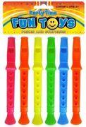 Mini Flute Whistle Recorder Assorted Colours - T08 172