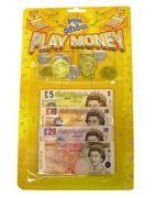 Children's Kids Play Money Toy Pretend Fake Money £ Cash Notes Coins