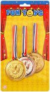 Olympics Gold Silver Bronze Winner Plastic Medals T41 029
