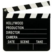 Director's Black And White Clapperboard 18 X 20cm - U09 059