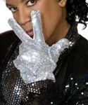 Michael Jackson Style Sequinned Glove U36 128