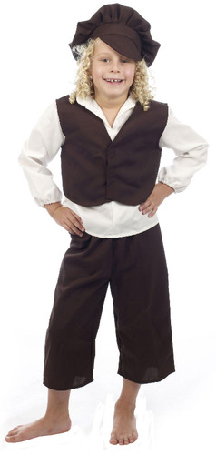 Child Victorian Boy Costume (10-12yrs) U37 720