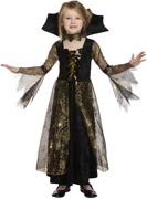 Girls Spiderella Witch Halloween Fancy Dress Costume - 4/6 Yrs