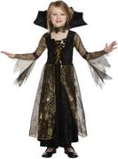 Girls Spiderella Witch Halloween Fancy Dress Costume - 7/9 Yrs