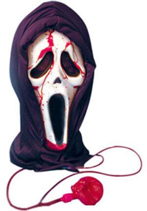 Bleeding Scream Ghost Mask