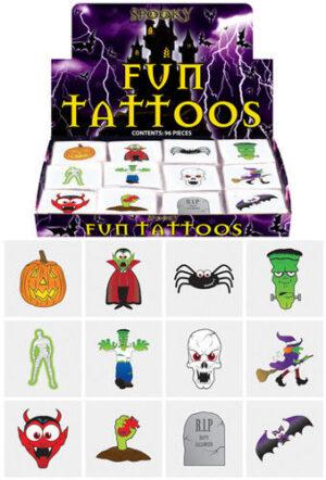 Halloween Tattoos/Transfers