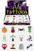 Halloween Mini Temporary Tattoos 12 Pack - V51 142