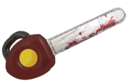 71cm Inflatable Bloody Chainsaw Halloween Fancy Dress Prop