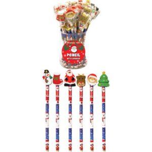 24 x Christmas Pencils