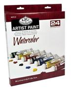 24 Watercolour 21ml Assorted Colour Pack WAT21-24