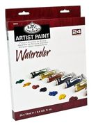 24 x 12ml Essentials Watercolour Paint Tubes Wat24