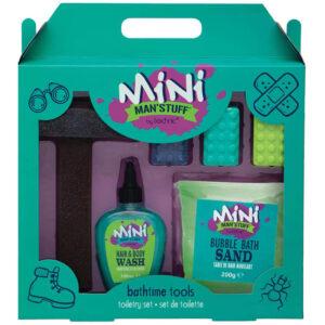 Mini Man'Stuff Bath & Body Wash Set