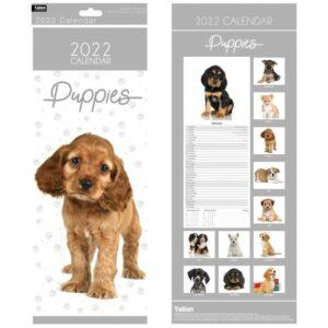 2022 Puppies Calendar