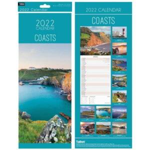 Coasts Hanging Calendar