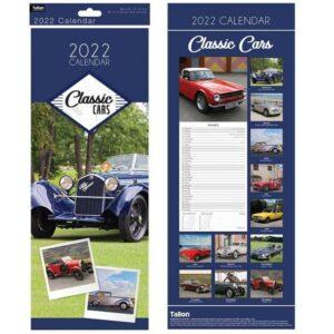 2022 Classic Cars Calendar