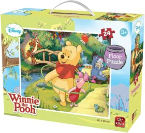 24 Piece Winnie The Pooh Jigsaw Puzzle