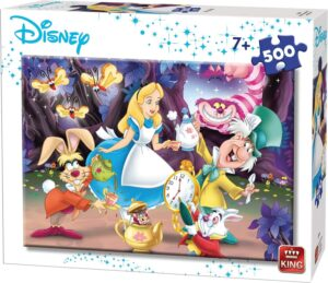 500 piece Alice In Wonderland Jigsaw Puzzle