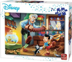 500 Piece Pinocchio Jigsaw Puzzle