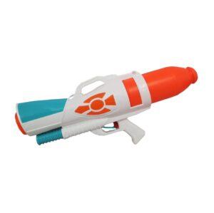 White & blue water gun