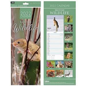 Wildlife Hanging Calendar