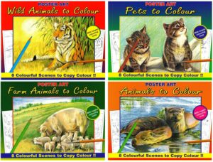 Animals To Colour Book