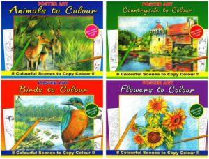 Nature Colouring Books