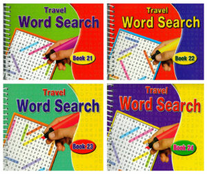 Travel Word Search Book