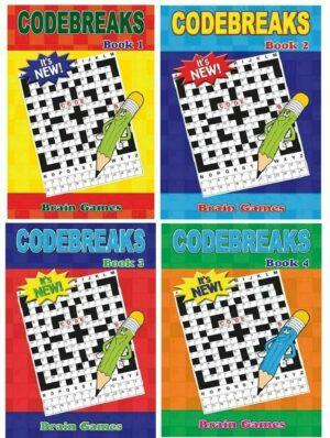 A5 Code Breaker Books