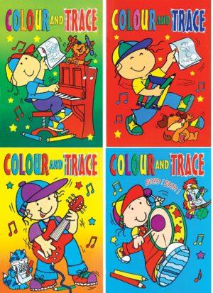 A4 Colour & Trace Books