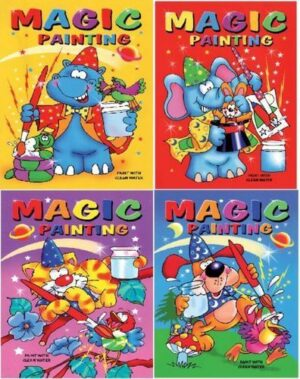 A5 Magic Painting Colouring Books
